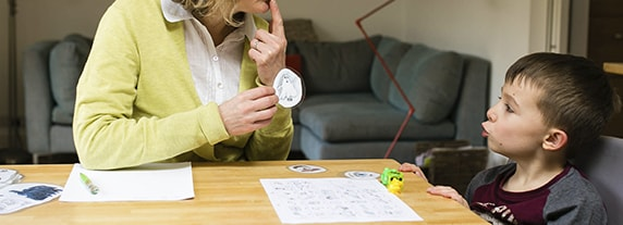 Логопедические занятия с малышом дома