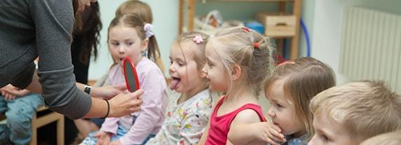 Взаимодействие логопеда и детей в детском саду